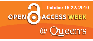 Open Access Week @ Weeks Banner