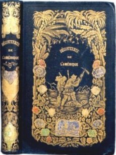 [Book cover for Decouverte de l'Amerique, photo courtesy of Margaret Lock]