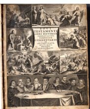 [Illustration from a 1652 Latin and Greek New Testament]