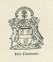 [Lord Tweedsmuir bookplate]