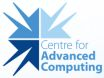 [Centre for Advanced Computing]