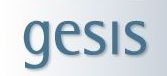[GESIS logo]
