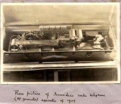 [Fessenden's radio telephone, 1907]