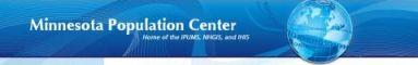 [Minnesota Population Center logo]