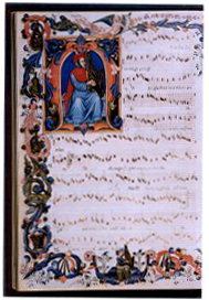 [Music manuscript page from Il Codice Squarcialupi]