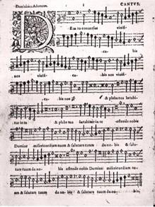 [Palestrina score]