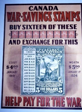 [WW1 War Stamps Poster]