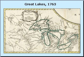 [The Great Lakes, 1763]