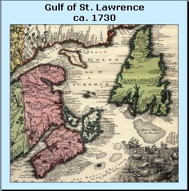 [Gulf of St. Lawrence ca. 1730]