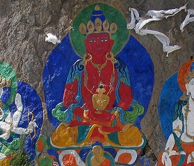 [Tibetan Buddhist Art. Photo by Michael Mooney, via Flickr (CC license)]