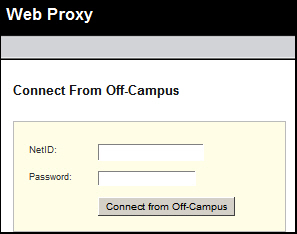 [Web Proxy login]