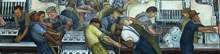 ['Detroit Industry' - Detroit Institute of Arts (Diego Rivera)]