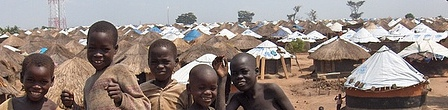 Children of Pabbo IDP Camp, Uganda