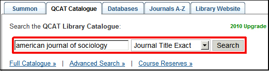 [Journal title search]