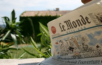 Le Monde. Photo by marcokalmann, via Flickr (CC license)