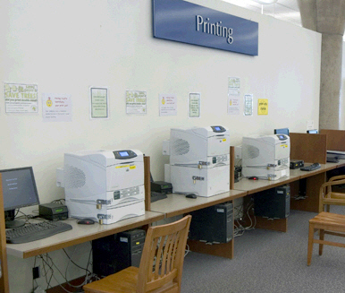 Printer/photocopier Stations