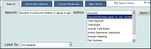 [QCAT keyword search]