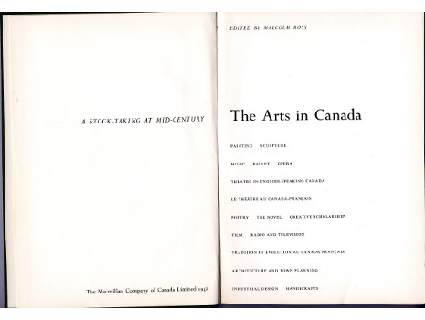 the arts in canada essay