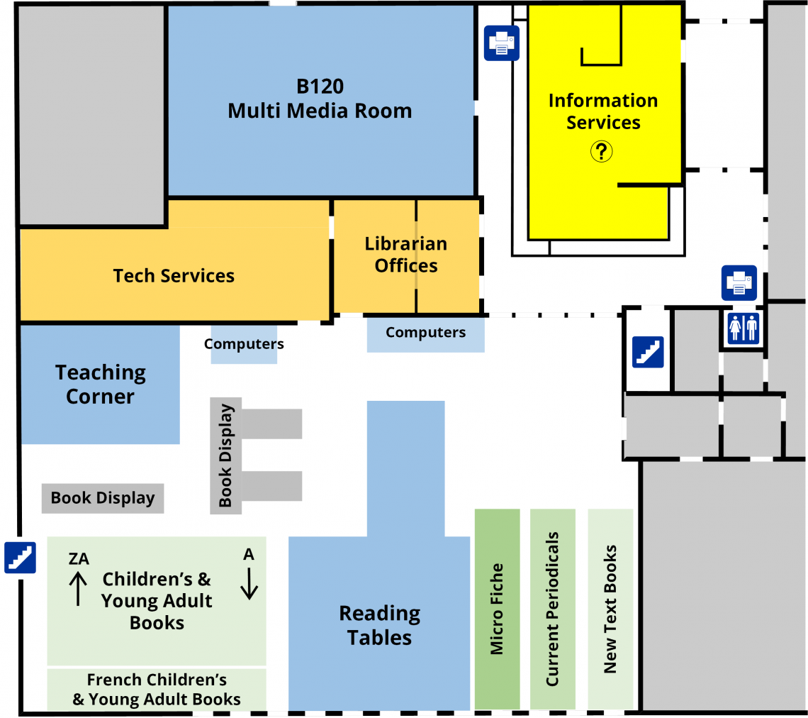 Education Library First Floor