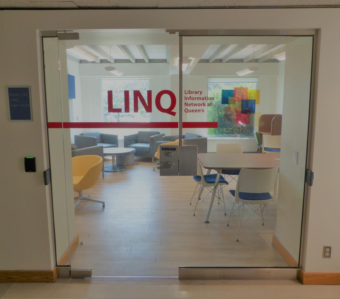 Entrance to Watson Hall LINQ