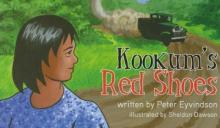 Cover of children's book, Kookum's Red Shoes