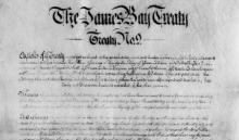 Image of The James Bay Treaty No. 9