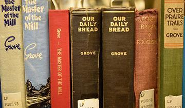 Federick Philip Grove Collection