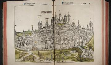 Image of Nuremberg from the Chronicle