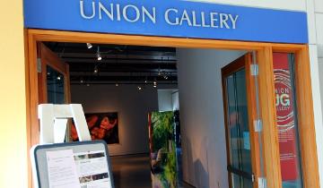 Union Gallery Entrance